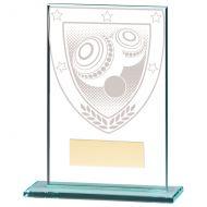 Millennium Lawn Bowls Jade Glass Trophy Award 125mm : New 2020