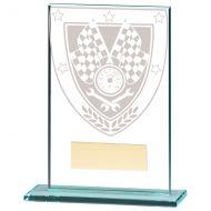 Millennium Motorsport Jade Glass Trophy Award 125mm : New 2020