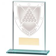 Millennium Snooker Jade Glass Trophy Award 125mm : New 2020