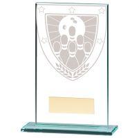 Millennium Ten Pin Bowling Jade Trophy Award 140mm : New 2020