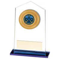 Downton Multisport Glass Trophy Award 130mm : New 2020