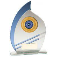 Legion Multisport Mirror Glass Trophy Award 185mm : New 2020