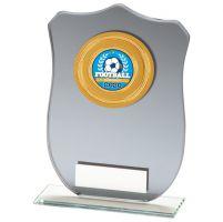 Patriot Multisport Mirror Glass Trophy Award 120mm : New 2020