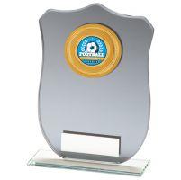 Patriot Multisport Mirror Glass Trophy Award 140mm : New 2020