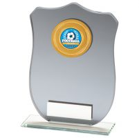 Patriot Multisport Mirror Glass Trophy Award 160mm : New 2020