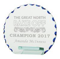Jade Motion Crystal Trophy Award 110mm