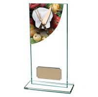 Cooking Colour-Curve Jade Crystal Trophy Award 180mm