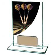 Colour Curve Darts Jade Glass Trophy Award 125mm : New 2020
