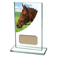 Equestrian Colour-Curve Jade Glass 140mm : New 2019