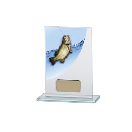 Angling - Fishing Colour-Curve Jade Crystal Trophy Award 140mm