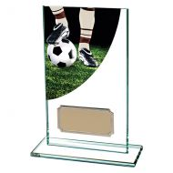 Football Boot Colour-Curve Jade Glass 140mm : New 2019