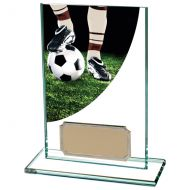 Football Boot Colour-Curve Jade Glass 125mm : New 2020