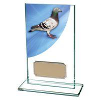 Pigeon Racing Colour-Curve Jade Crystal 140mm