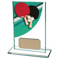 Colour-Curve Table Tennis Jade Crystal 125mm : New 2020