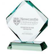 Jade Accord Crystal Trophy Award 155mm