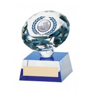 Diamond Spirit Crystal Multi Sport Trophy Award 100mm
