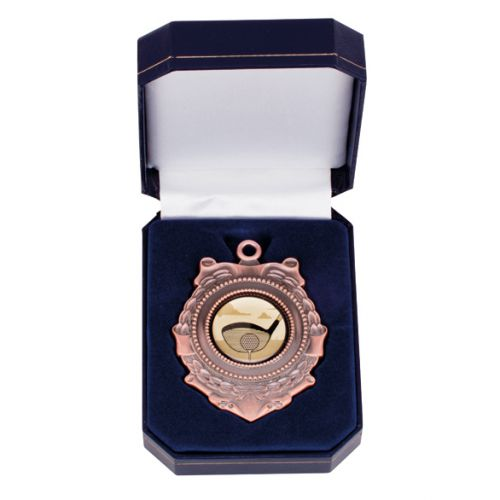 Triumph Medal In Box Bronze 90mm