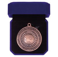 Olympia Football Medal Box Antique Bronze 60mm : New 2019