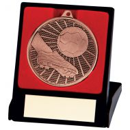 Formation Football Medal and Box Bronze 50mm : New 2020
