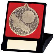 Formation Football Medal and Box Gold 50mm : New 2020