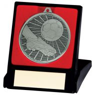 Formation Football Medal and Box Silver 50mm : New 2020