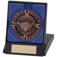 V-Tech Golf Medal and Box Bronze 60mm