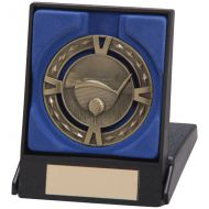 V-Tech Golf Medal and Box Gold 60mm