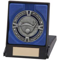 V-Tech Golf Medal and Box Silver 60mm