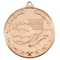 Starboot Economy Football Trophy Award Medal Gold 50mm