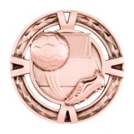 V-Tech Series Medal - Boot and Ball Bronze 60mm
