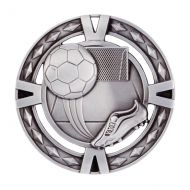 V-Tech Series Medal - Boot and Ball Silver 60mm