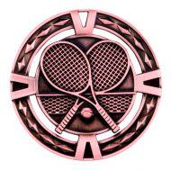 V-Tech Series Medal - Tennis Bronze 60mm