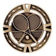 V-Tech Series Medal - Tennis Gold 60mm