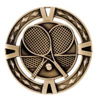 V-Tech Series Medal - Tennis Gold 60mm