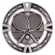 V-Tech Series Medal - Tennis Silver 60mm