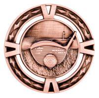V-Tech Golf Medal Bronze 60mm