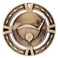 V-Tech Golf Medal Gold 60mm