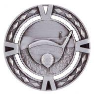V-Tech Golf Medal Silver 60mm