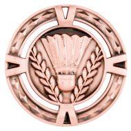 V-Tech Series Medal - Badminton Bronze 60mm