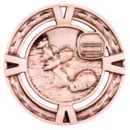 V-Tech Series Medal - Swimming Bronze 60mm