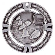 V-Tech Series Medal - Swimming Silver 60mm