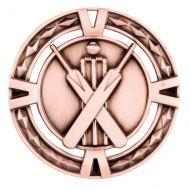 V-Tech Series Medal - Cricket Bronze 60mm