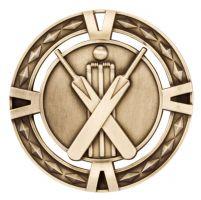 V-Tech Series Medal - Cricket Gold 60mm