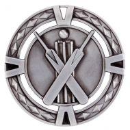V-Tech Series Medal - Cricket Silver 60mm