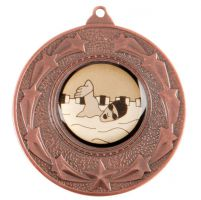 Star Burst Medal Series Bronze 50mm
