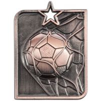 Centurion Star Series Football Trophy Award Medal Bronze 53x40mm