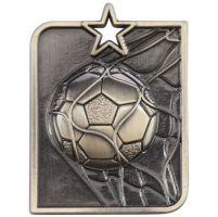 Centurion Star Series Football Trophy Award Medal Gold 53x40mm