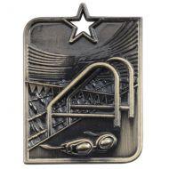 Centurion Star Series Swimming Medal Gold 53x40mm