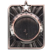 Centurion Star Series Multisport Medal Bronze 53x40mm