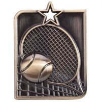 Centurion Star Series Tennis Medal Gold 53x40mm